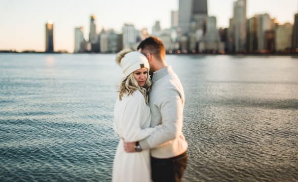 chicago engagement session inspiration