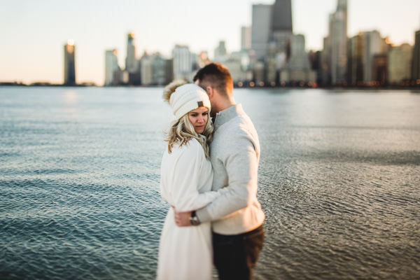 Chicago Engagement Session // Brie + Jason