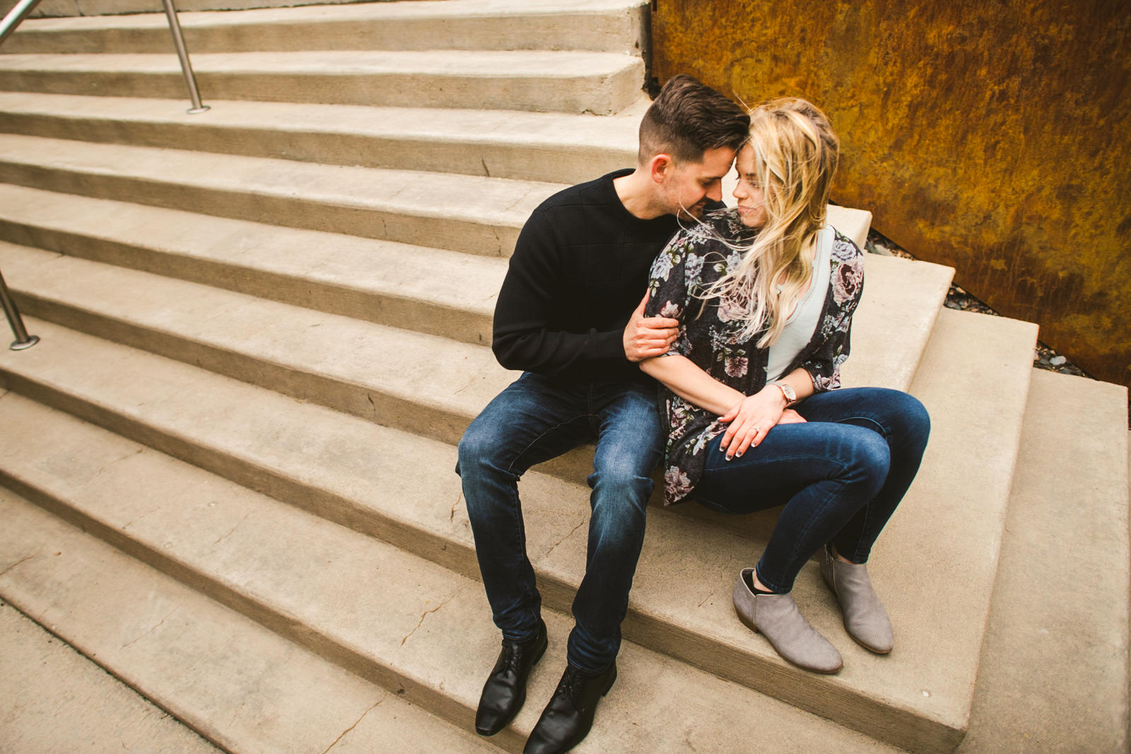 01 downtown chicago engagement photographer - Downtown Chicago Engagement \\ Stephanie + Luke