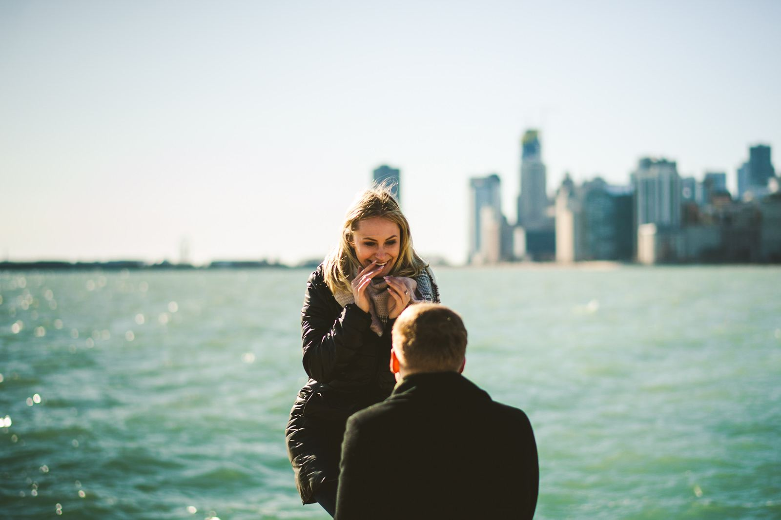 03 getting engaged in chicago - The Prefect Chicago Proposal // Eva + Vitalij