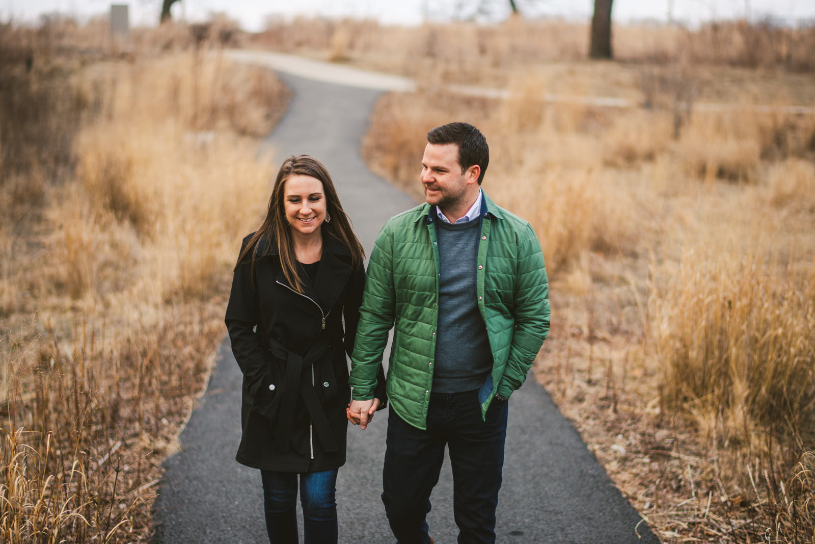 04 lincoln park engagement session - West Loop Chicago Engagement Session // Courtney + Tim