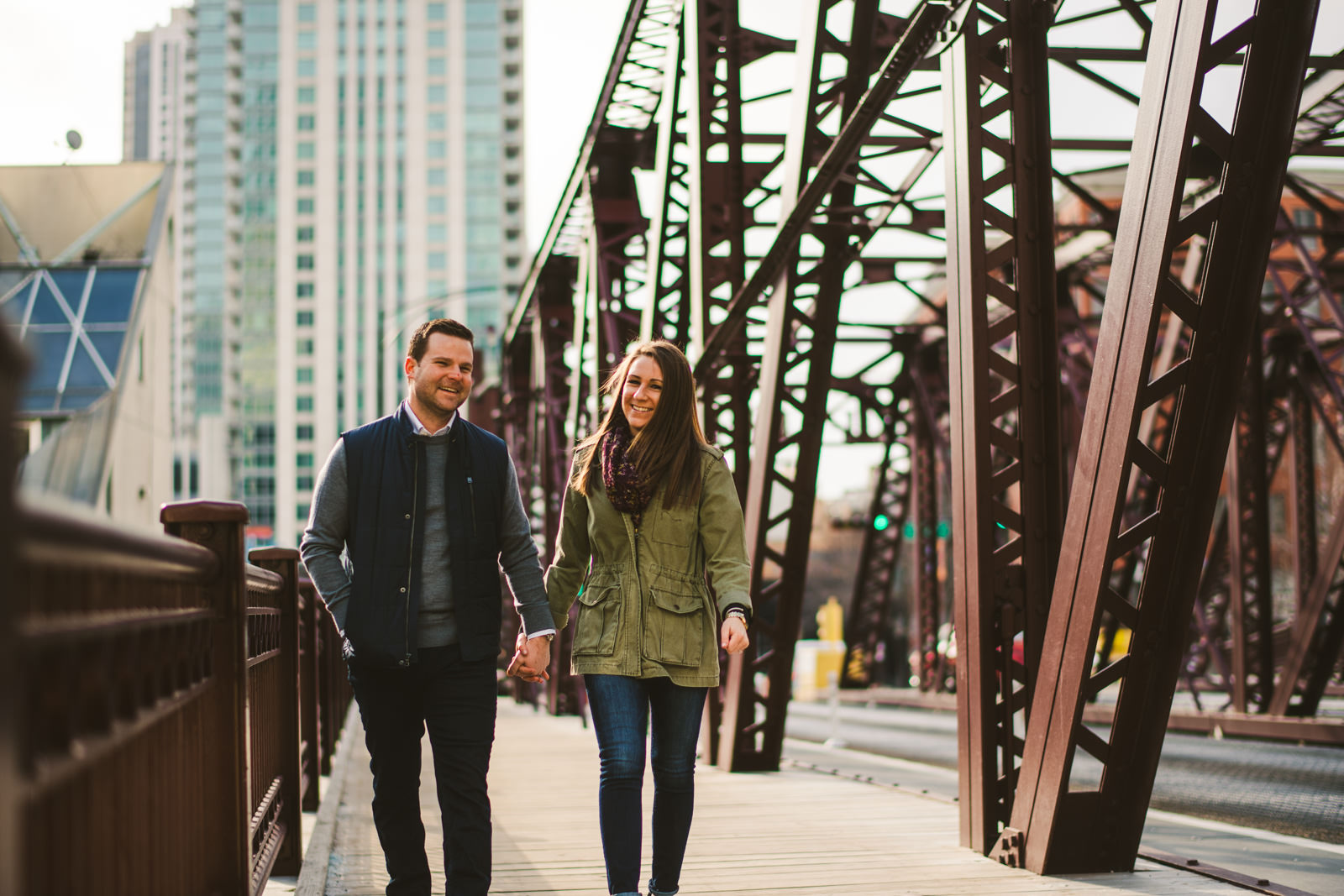 05 best engagement photos in chicago - West Loop Chicago Engagement Session // Courtney + Tim