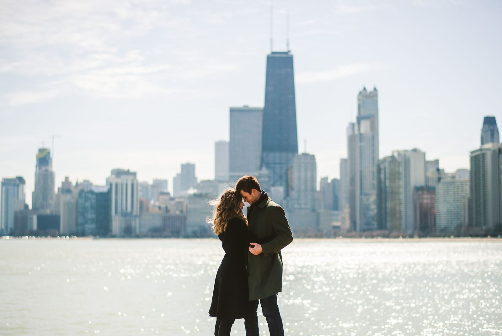 05 proposal at north avenue beach - Chicago Marriage Proposal Photos // Justin + Basia
