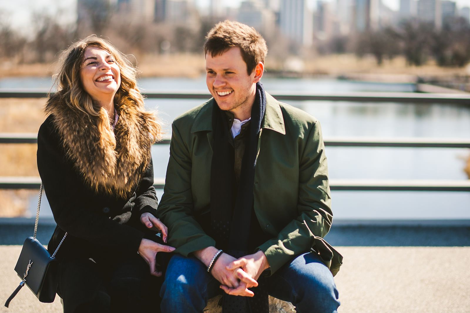 08 chicago engagement photographer - Chicago Marriage Proposal Photos // Justin + Basia