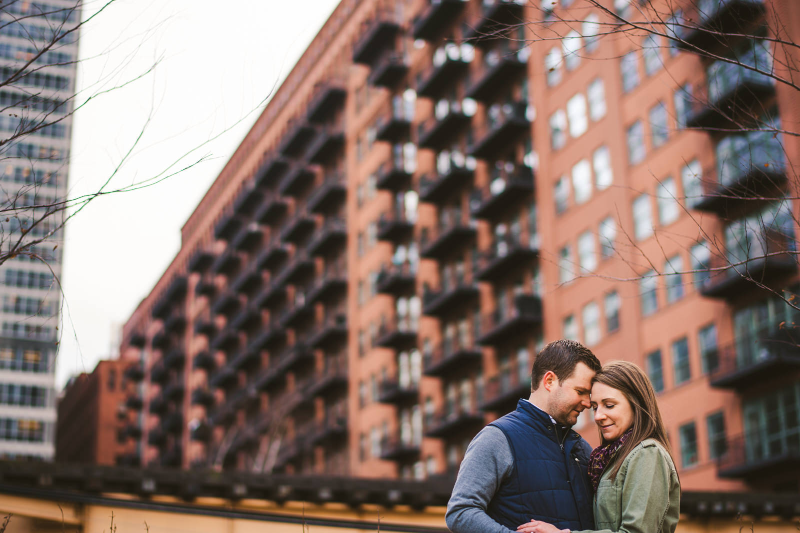 09 best spots for engagement photos - West Loop Chicago Engagement Session // Courtney + Tim