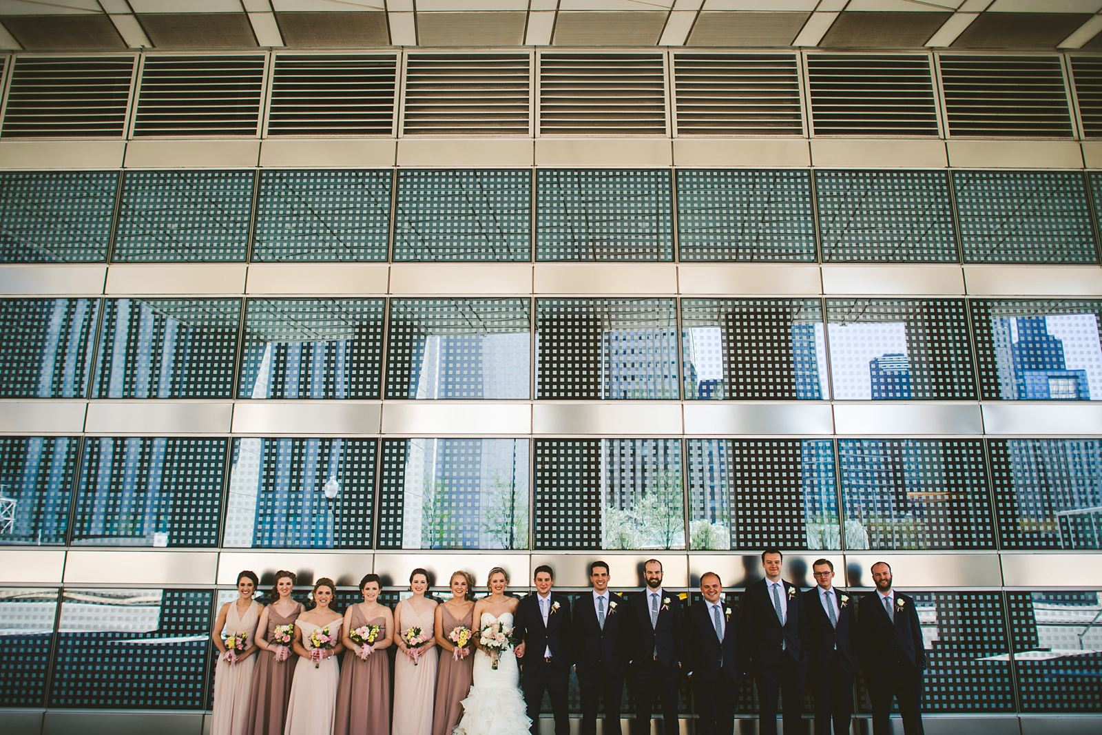 17 full bridal party photos in chicago - Mid America Club Wedding Photography / Hannah + Jay