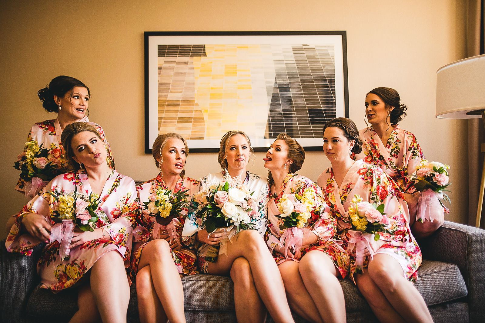 5 bridesmaids inspiration - Mid America Club Wedding Photography / Hannah + Jay