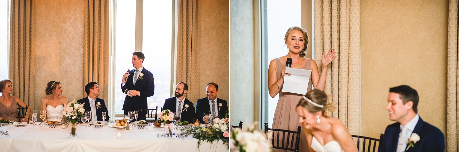 51 speeches - Mid America Club Wedding Photography / Hannah + Jay