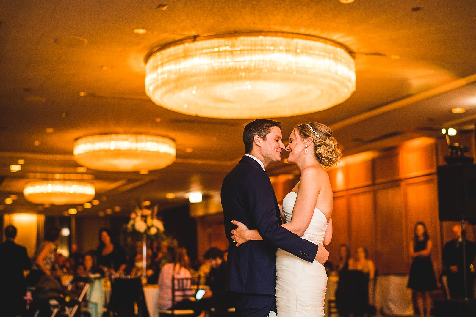 56 first dance at mid america club wedding - Mid America Club Wedding Photography / Hannah + Jay