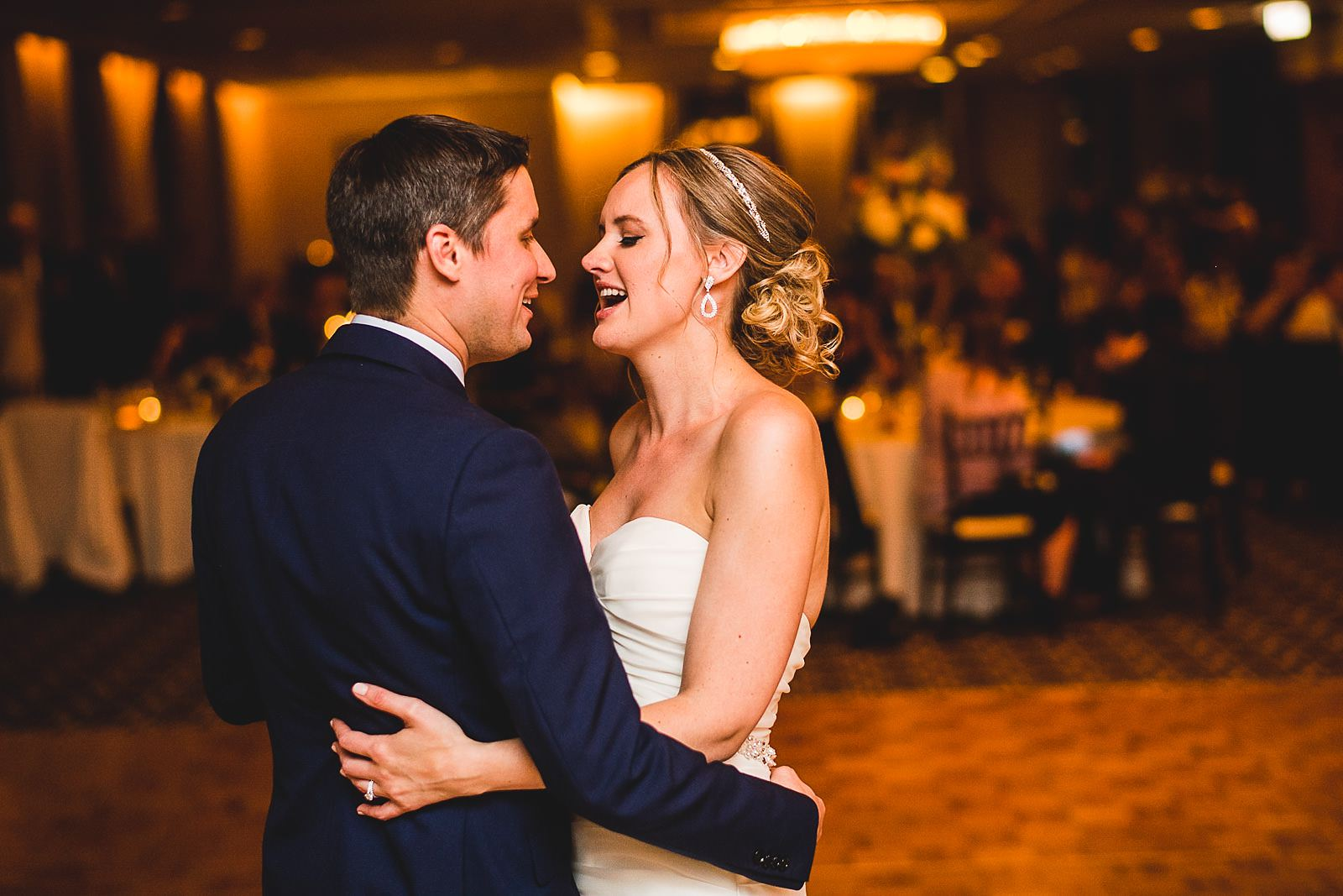 57 first dance - Mid America Club Wedding Photography / Hannah + Jay