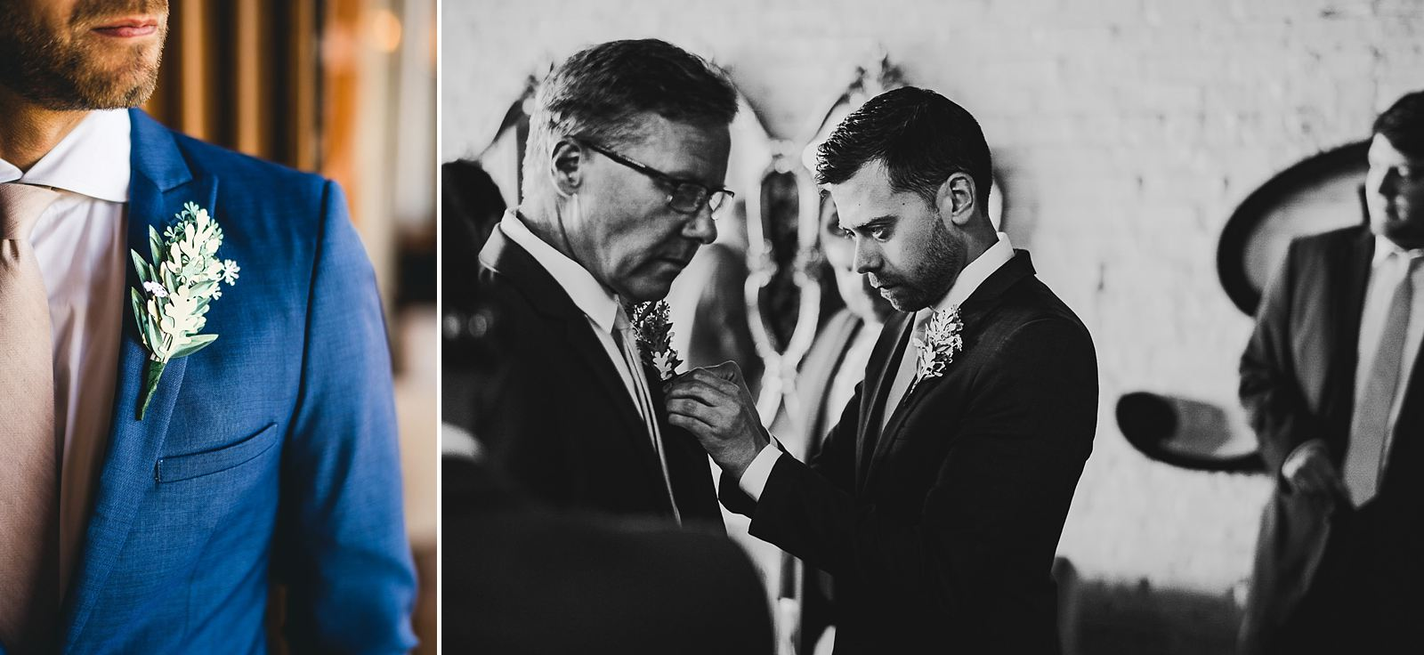 10 groom and dad - Salvage One Wedding // Pearl + Ken