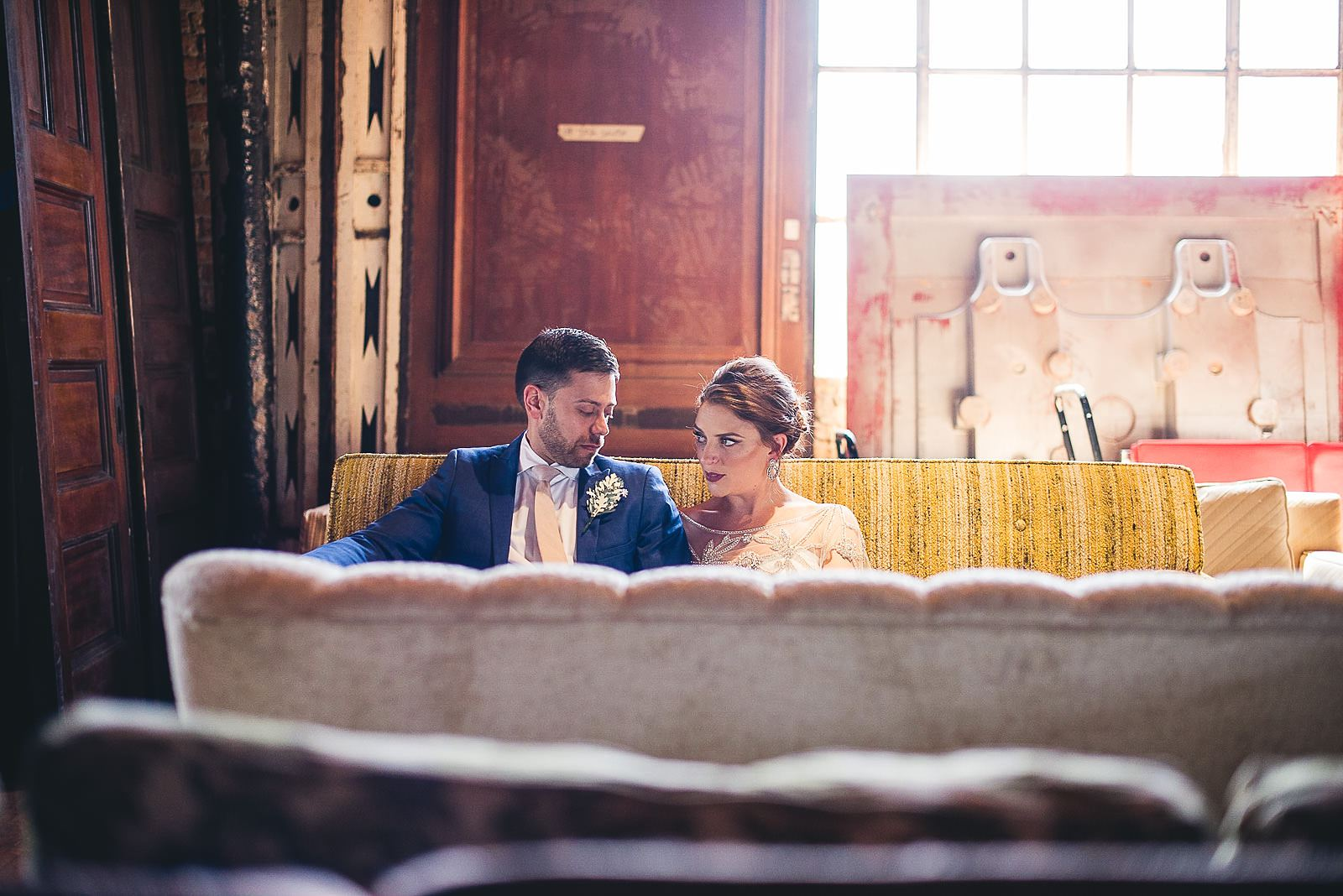 14 bride groom photos at salvage one - Salvage One Wedding // Pearl + Ken