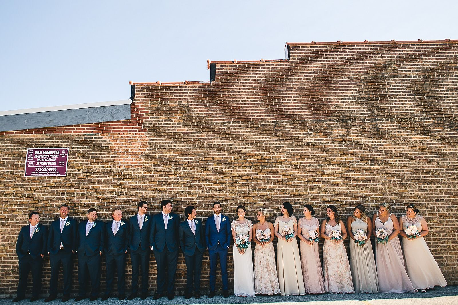 23 bridal party at salvage one - Salvage One Wedding // Pearl + Ken