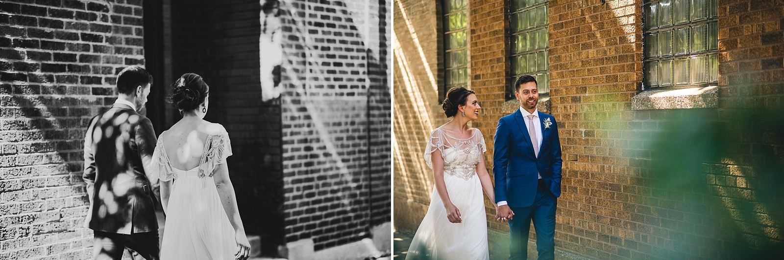 24 bride groom portraits around salvage one - Salvage One Wedding // Pearl + Ken