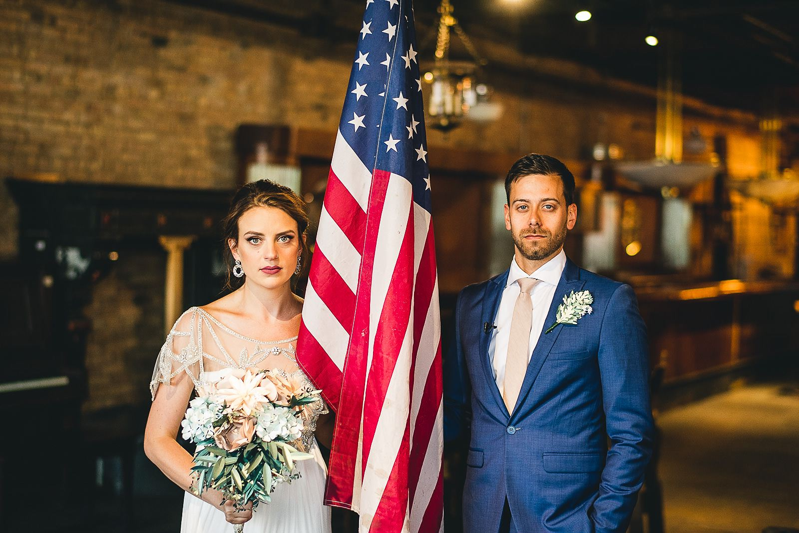 35 america - Salvage One Wedding // Pearl + Ken