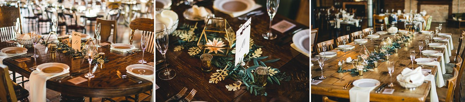 36 reception decor at salvage one wedding - Salvage One Wedding // Pearl + Ken