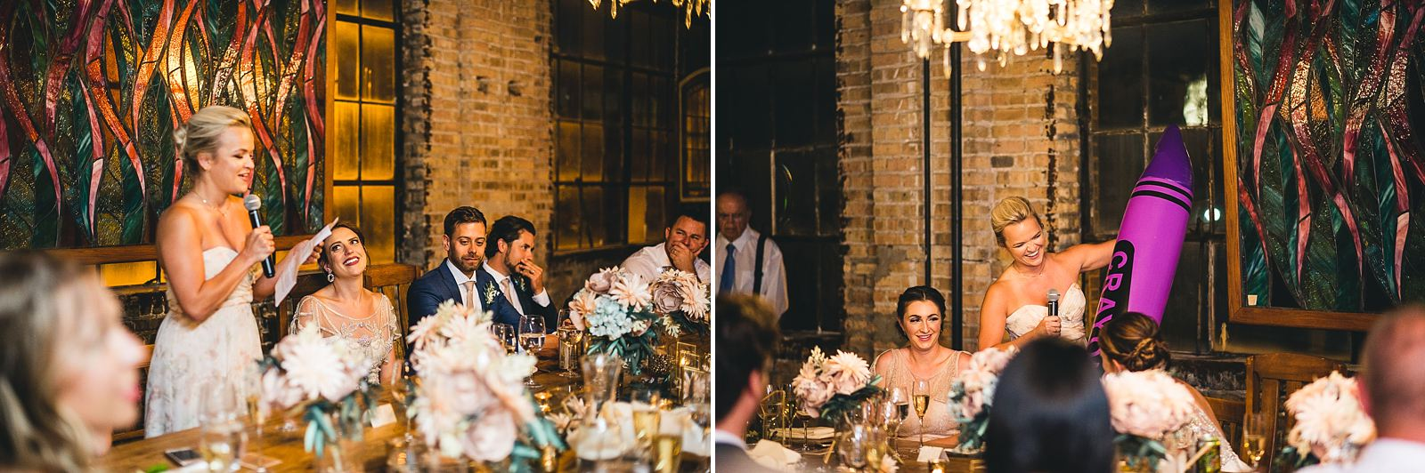 40 maid of honor speech at wedding - Salvage One Wedding // Pearl + Ken