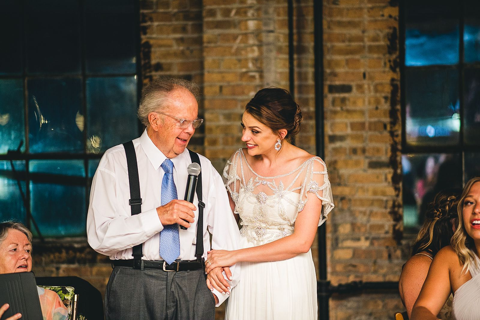 42 emotional grandfather speech - Salvage One Wedding // Pearl + Ken