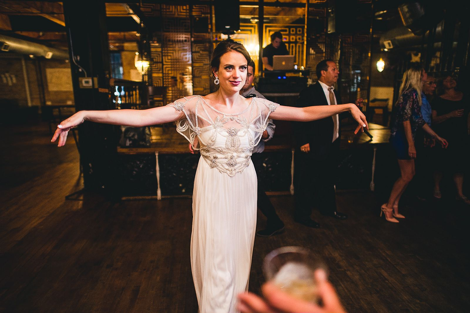 51 fun bride - Salvage One Wedding // Pearl + Ken