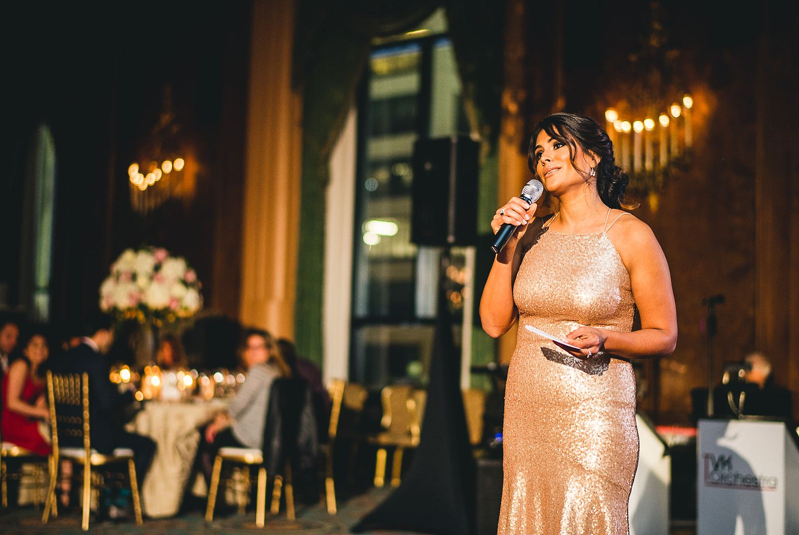 41 speech at wedding - Intercontinental Chicago Hotel Wedding // Lili + Danny
