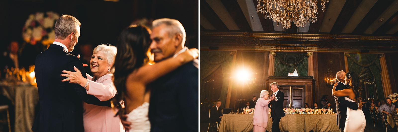 46 best mother groom bride dad dance - Intercontinental Chicago Hotel Wedding // Lili + Danny