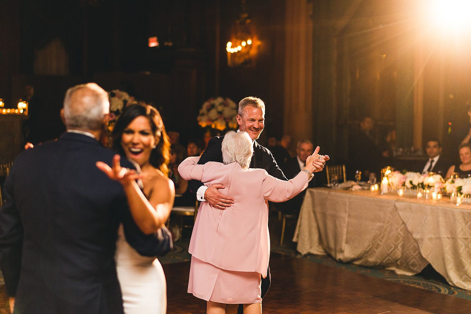 47 first dance with parents - Intercontinental Chicago Hotel Wedding // Lili + Danny