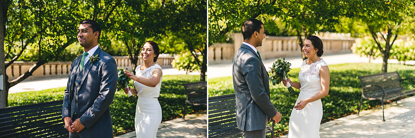 09 best first look - Wedding at Bridgeport Art Center // Kylie + Sean