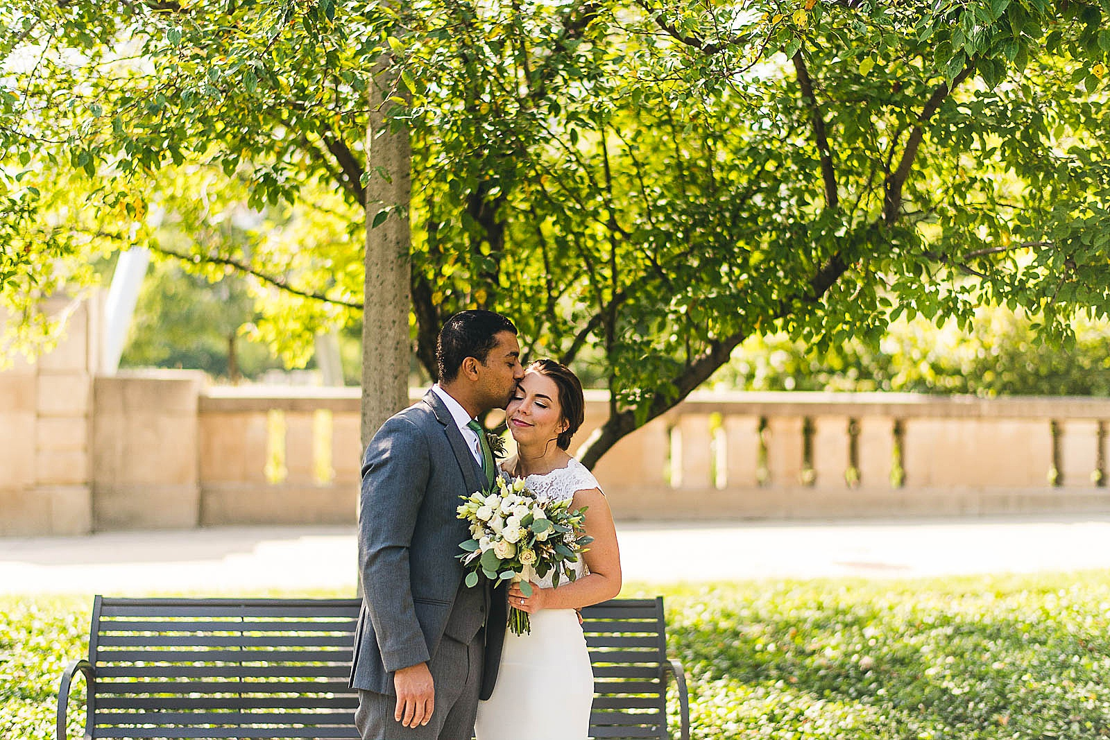 10 first look photo - Wedding at Bridgeport Art Center // Kylie + Sean