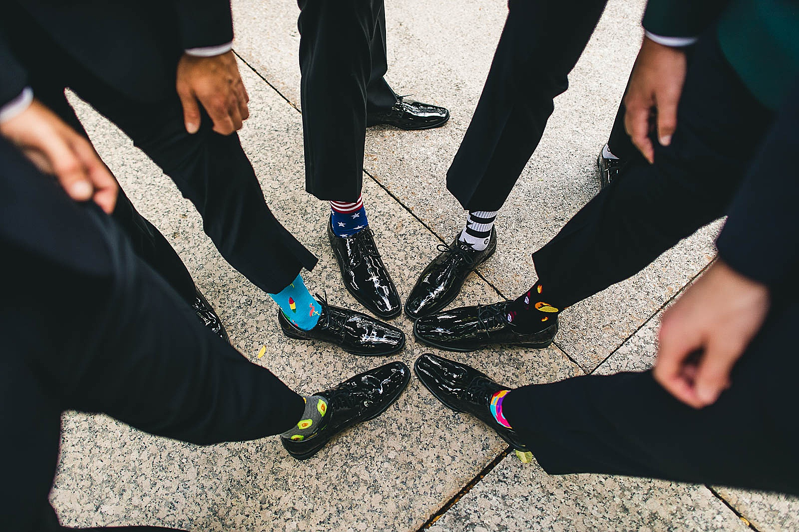 16 socks for grooms - Ivy Room Chicago Wedding Photos // Bethany + Anthony