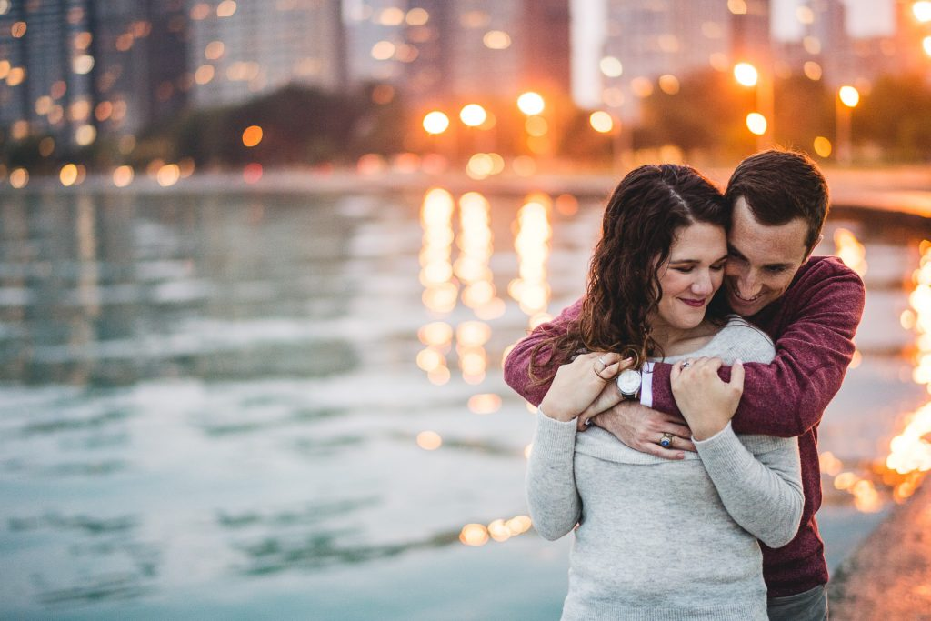 Chicago Engagement Photos // Colleen + Will