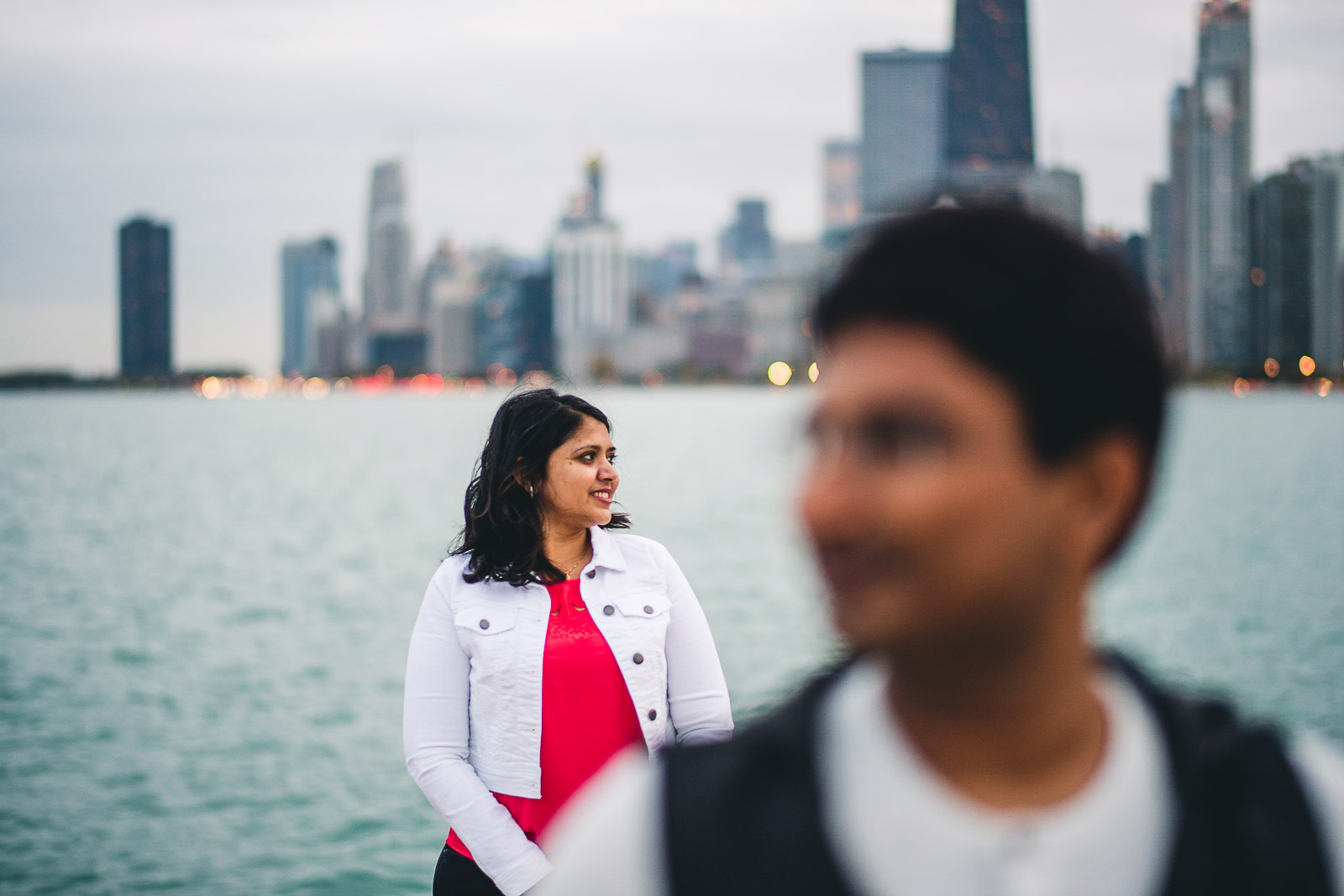 18 chicago engagement photography - Downtown Chicago Engagement Session // Mikita + Singh