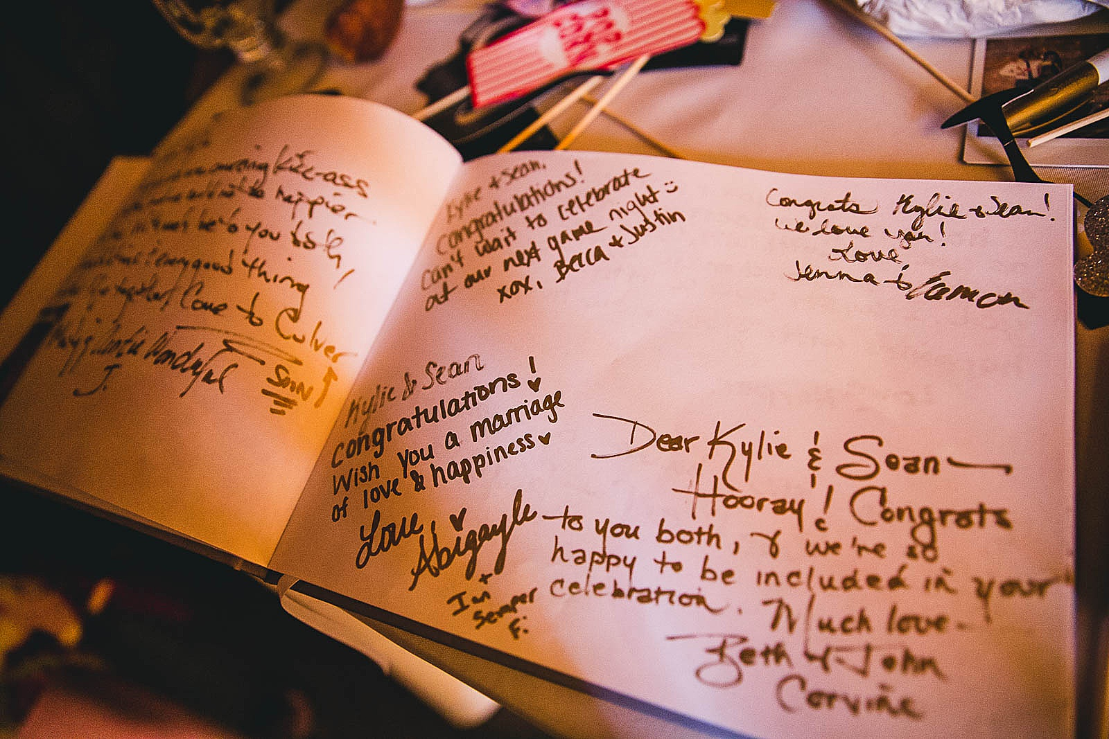 37 wedding guestbook - Wedding at Bridgeport Art Center // Kylie + Sean