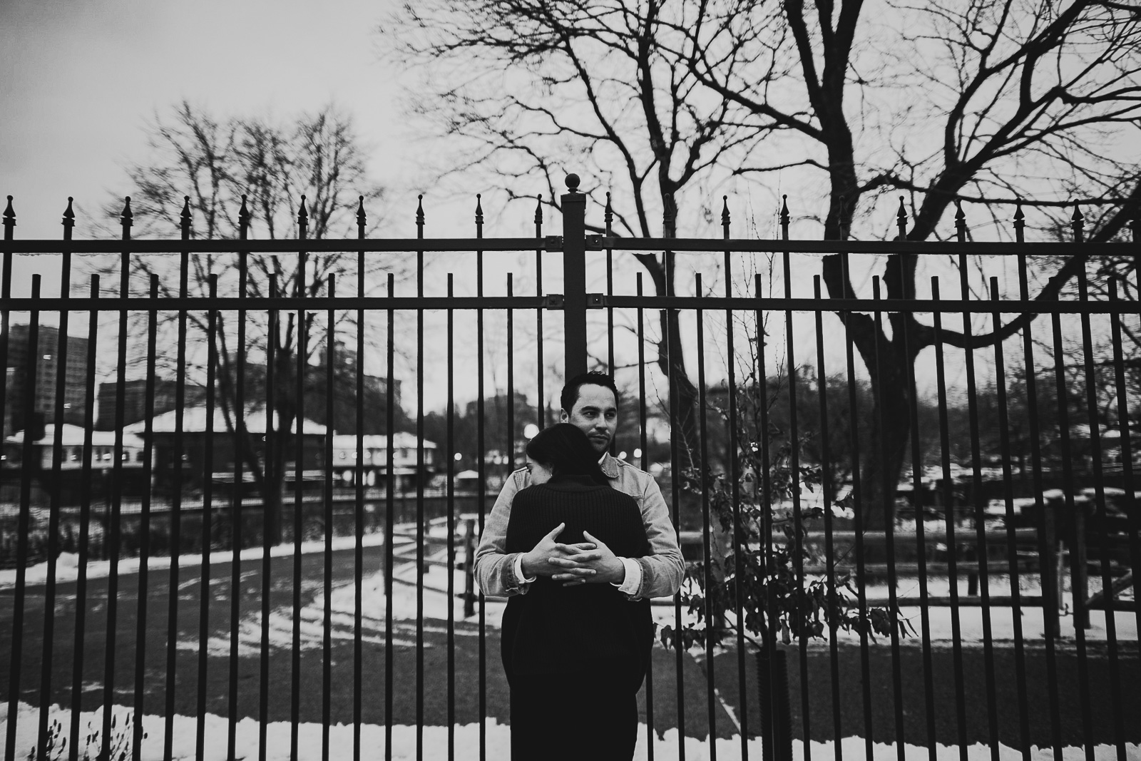 13 black and white photos - Chicago Proposal Photographer // Jose + Anna