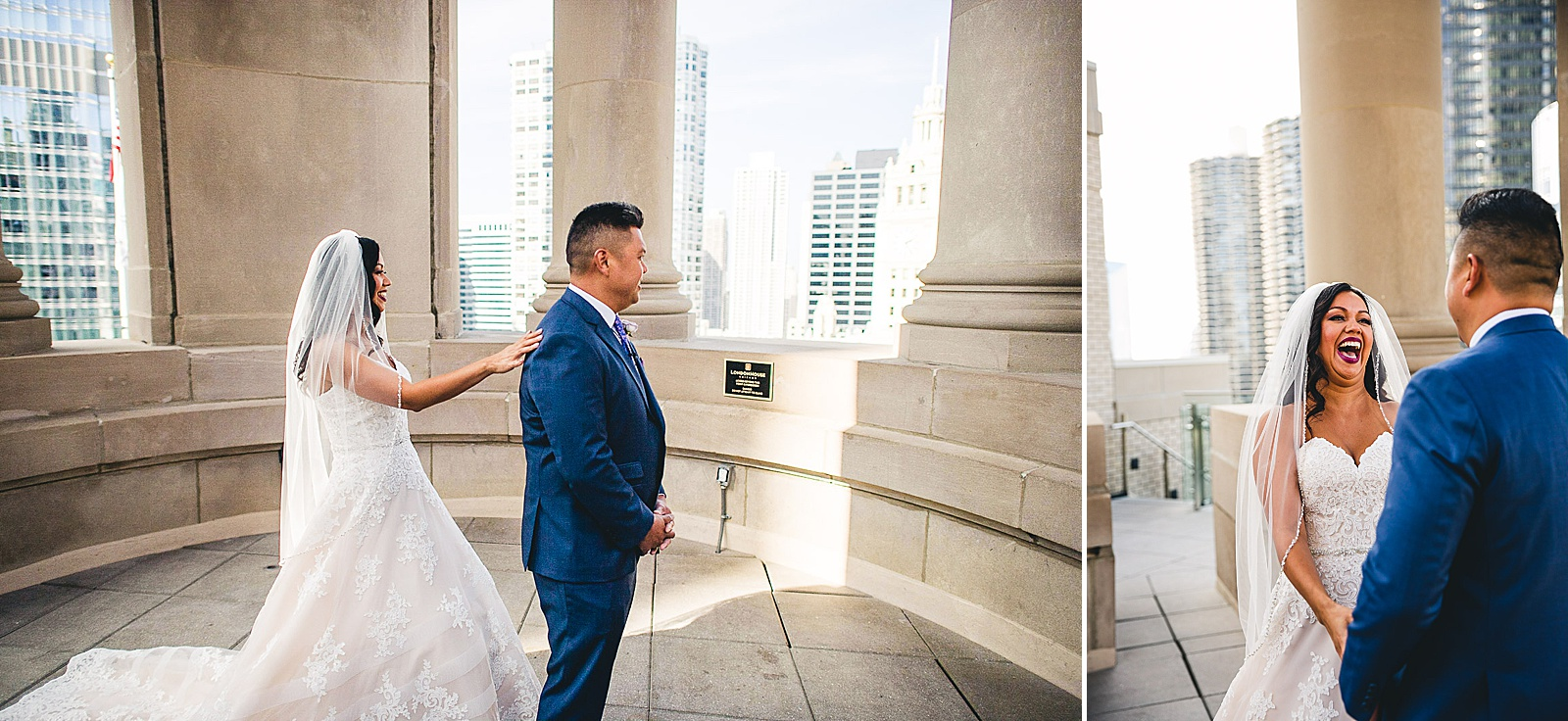 17 london house hotel first look - LondonHouse Wedding Photos // Mari + Kevin