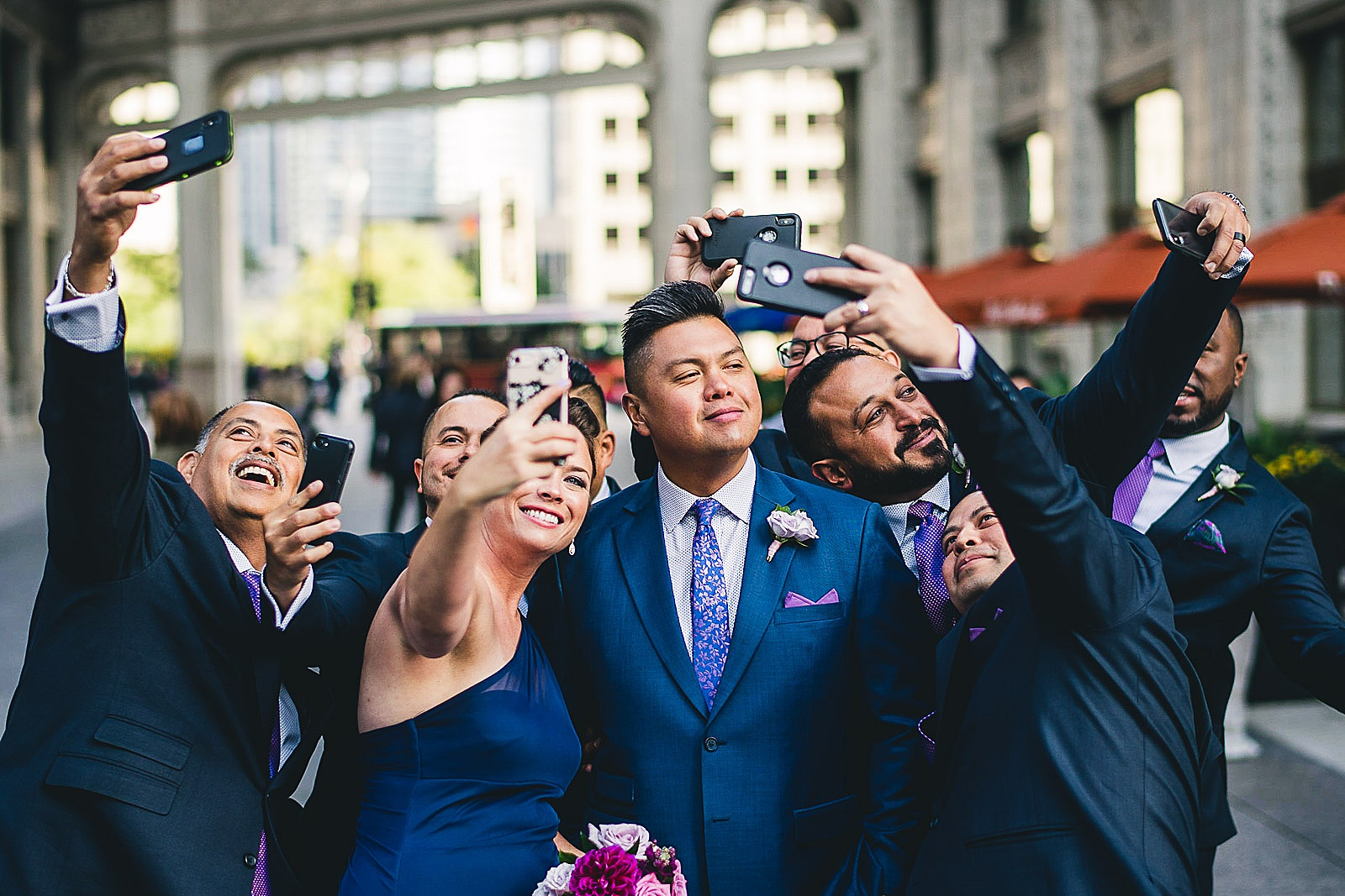 25 fun wedding photographers in chicago - LondonHouse Wedding Photos // Mari + Kevin