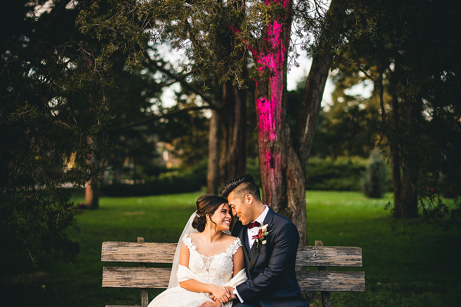 13 park wedding photography - Chicago Wedding Photography at Morton Arboretum // Alex + Tim