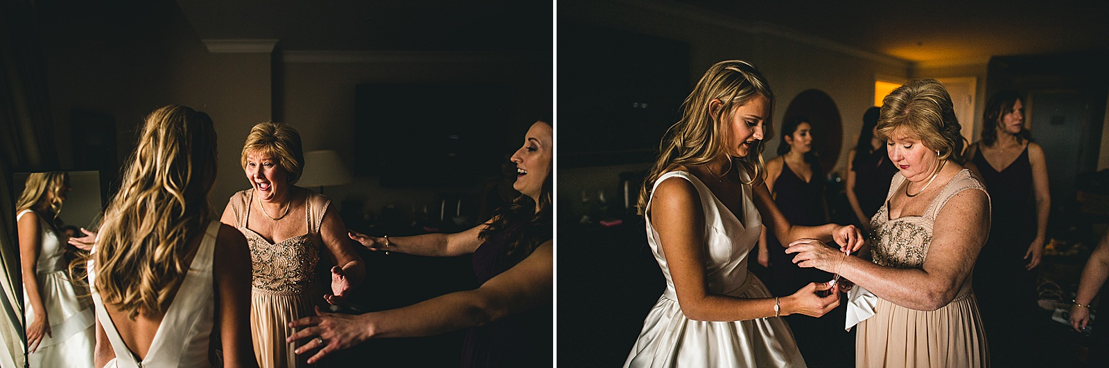 15 bride and mom - The Glen Club Wedding Photos // Katie + Nick
