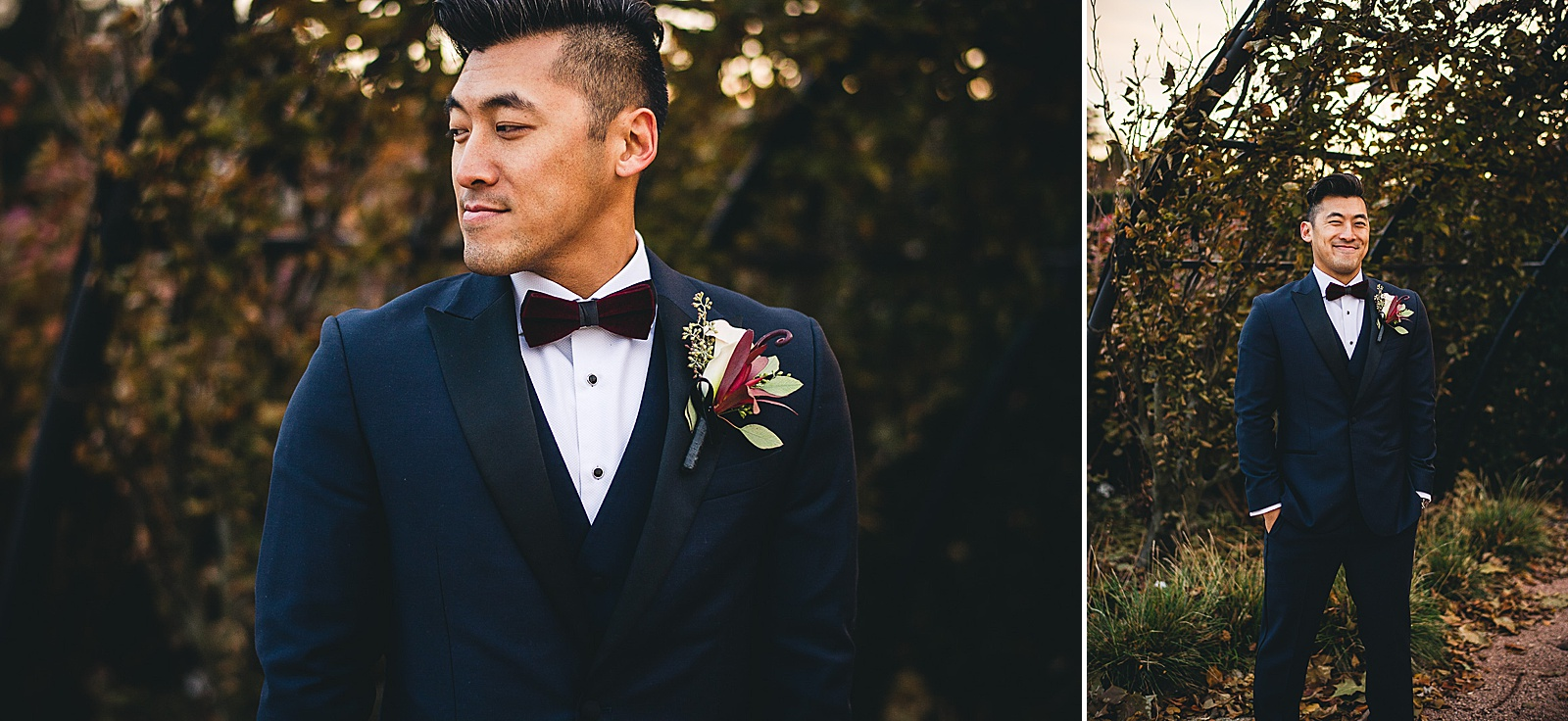 19 groom photo inspo - Chicago Wedding Photography at Morton Arboretum // Alex + Tim