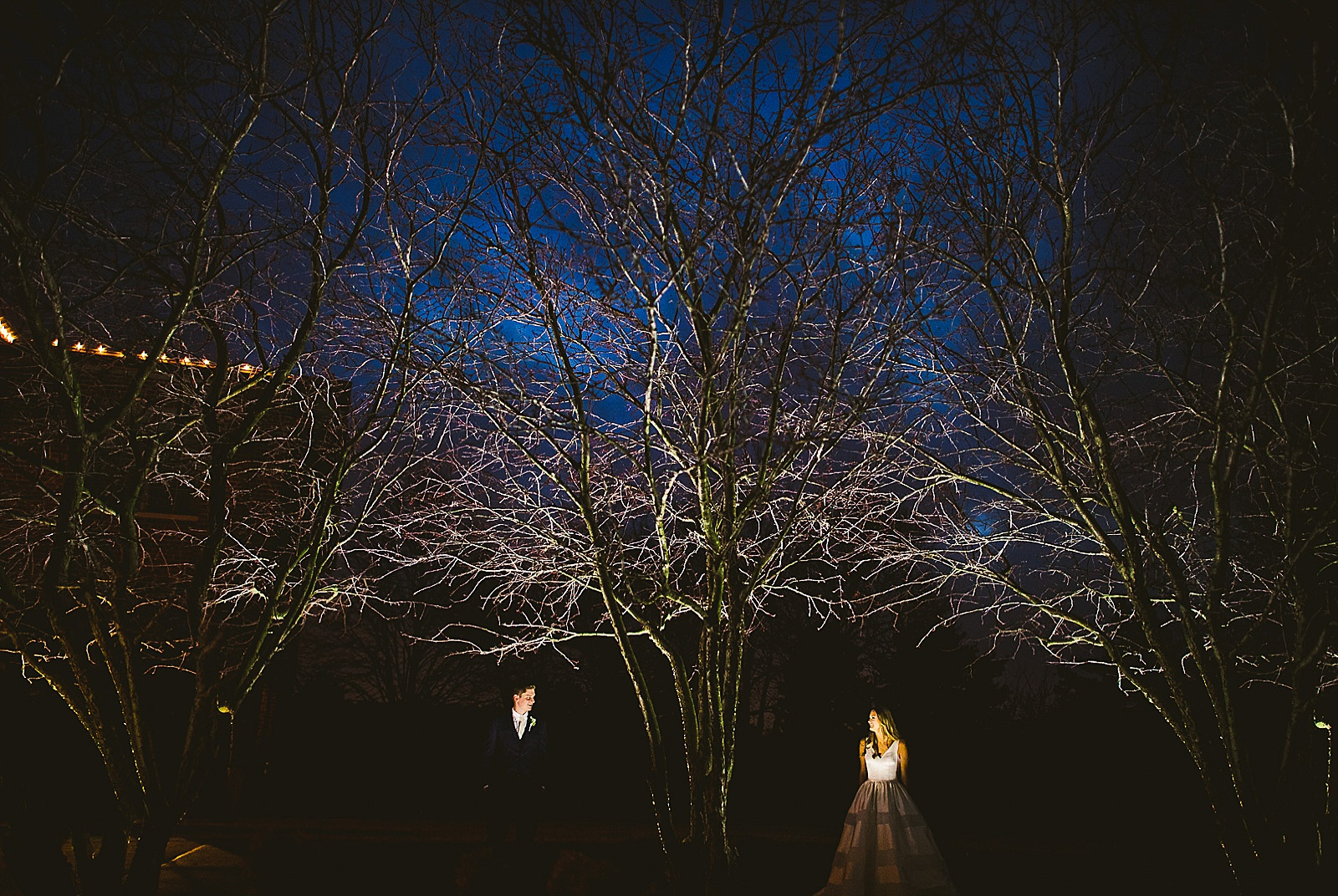 38 night time wedding portrait inspiration - The Glen Club Wedding Photos // Katie + Nick
