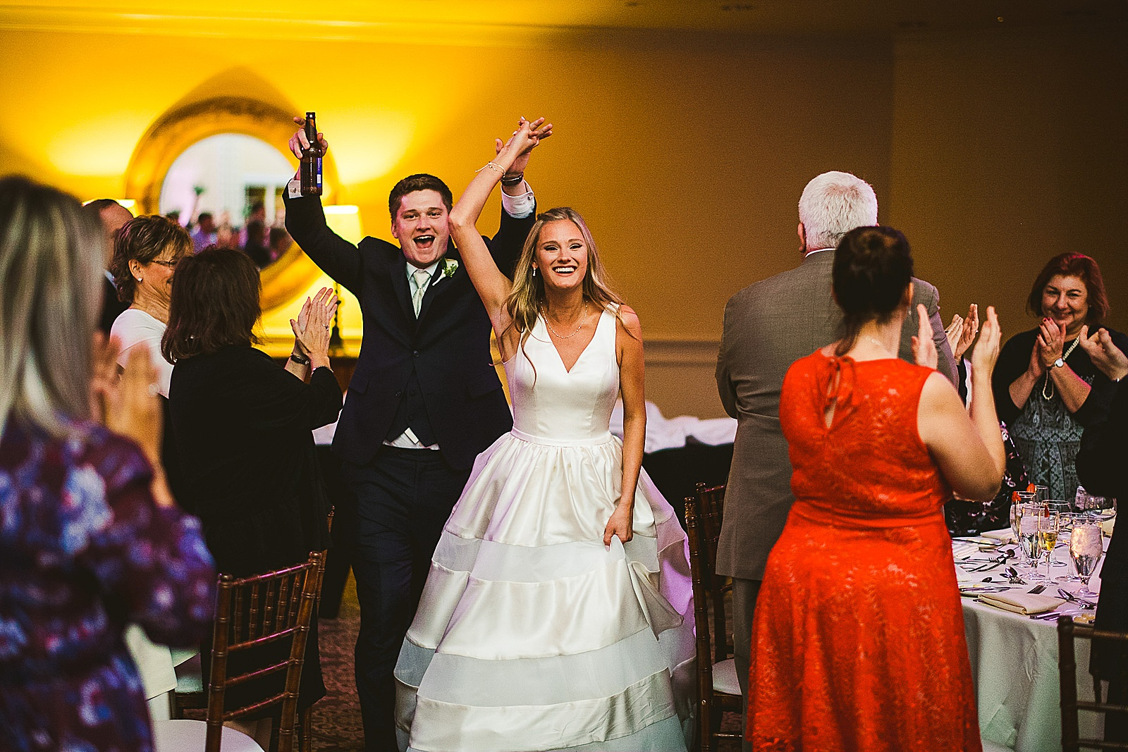 46 great wedding enterance photos - The Glen Club Wedding Photos // Katie + Nick