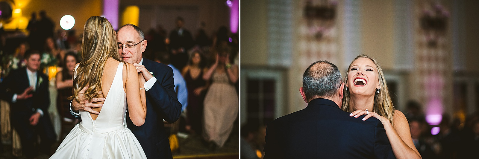 50 father daughter dance inspo - The Glen Club Wedding Photos // Katie + Nick