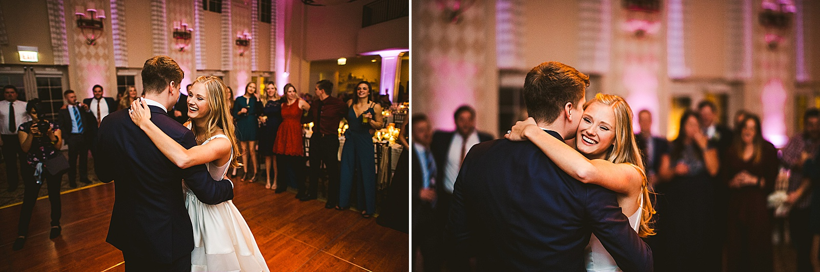 52 first dance by bride and groom photos - The Glen Club Wedding Photos // Katie + Nick