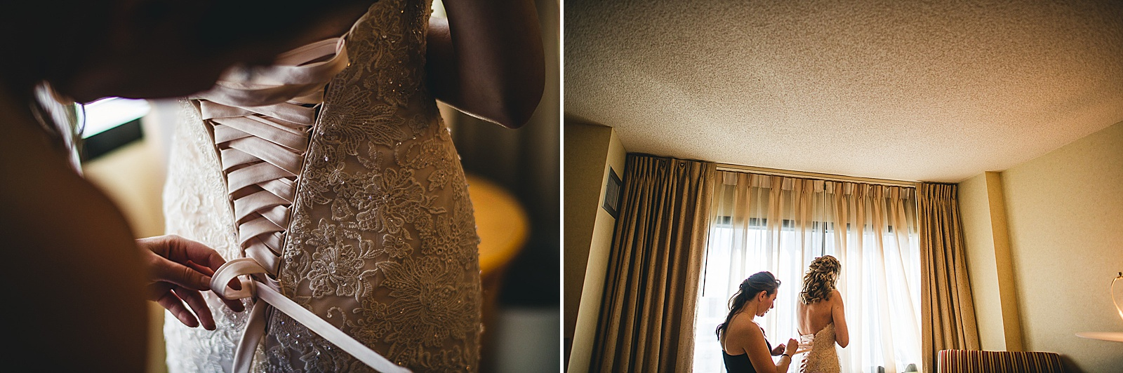 06 bride getting ready at drury lane - Oakbrook Wedding Photos at Drury Lane // Marina + Joe