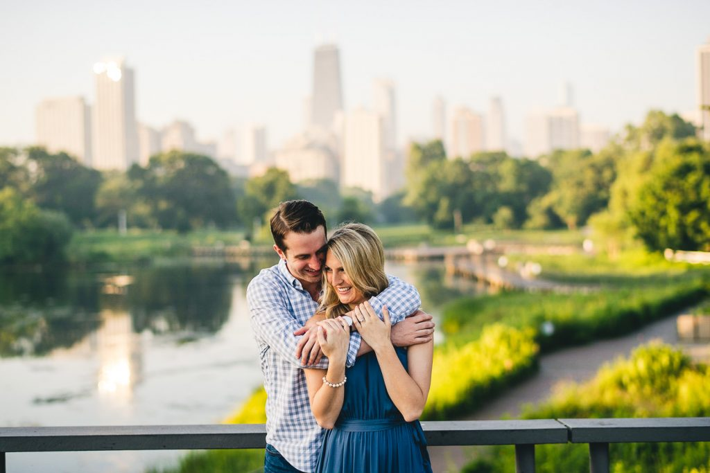 Chicago Engagement Photos // Lauren + Ben