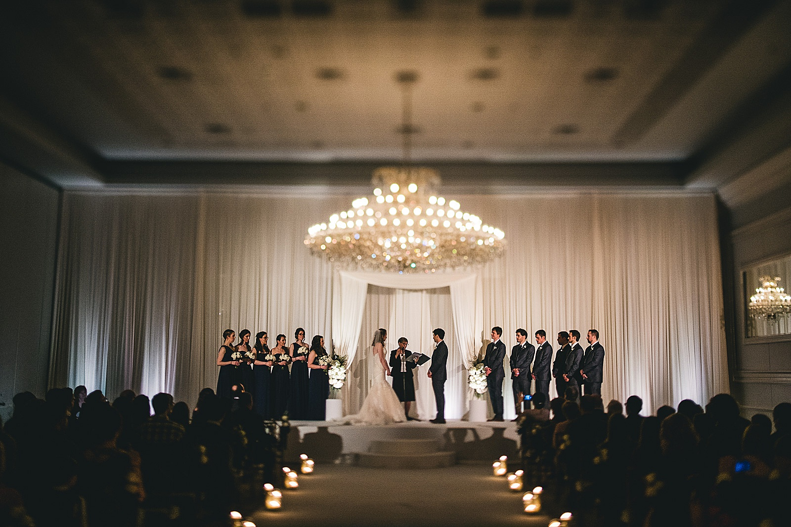 24 wedding ceremony at drury lane - Oakbrook Wedding Photos at Drury Lane // Marina + Joe