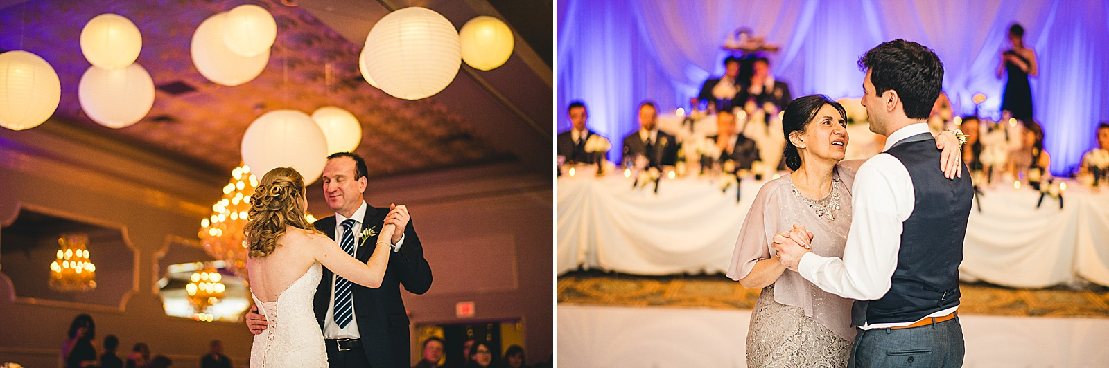 35 parent dances at wedding - Oakbrook Wedding Photos at Drury Lane // Marina + Joe