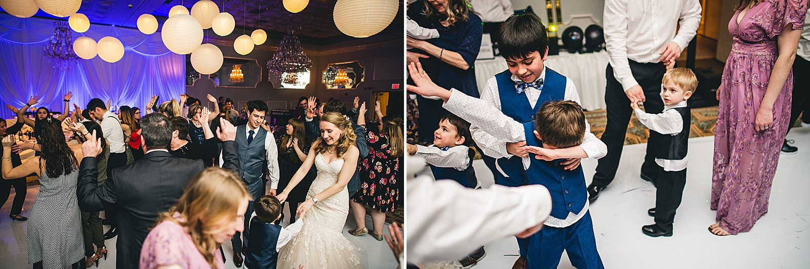 40 party wedding photos - Oakbrook Wedding Photos at Drury Lane // Marina + Joe