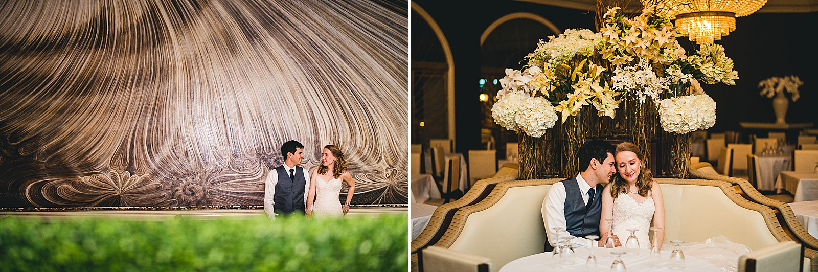 42 end of night portraits - Oakbrook Wedding Photos at Drury Lane // Marina + Joe