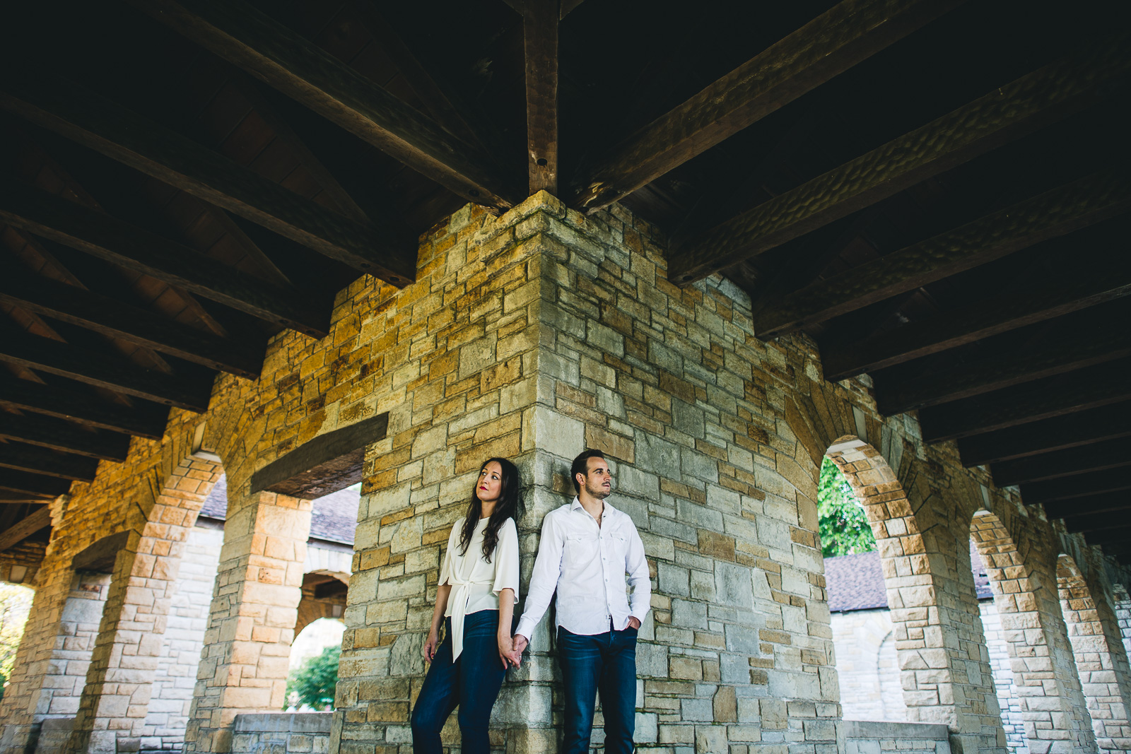 10 hyde park session - Hyde Park Chicago Engagement Photos // Stjepan + Kat