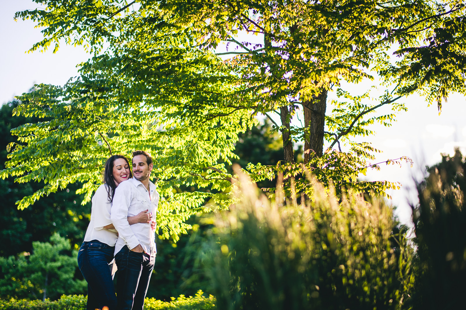 12 green engagement photography - Hyde Park Chicago Engagement Photos // Stjepan + Kat